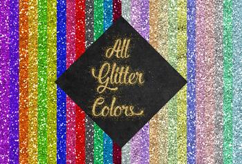 Glitter Butterflies Clipart