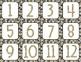 Glitter Calendar Numbers