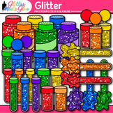 Glitter Clip Art {Shakers, Containers, & Tubes for Classro