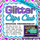 Clip Art Subscription - Bronze Membership {Yearly Graphics Club}