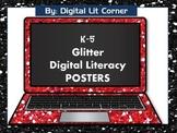 Glitter Digital Literacy (Citizenship) Posters K-5