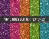 Glitter Digital Paper Textures Vivid Hues