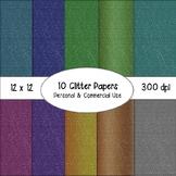 Glitter Digital Papers