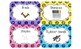 Glitter-Dottie  (Labels for an effectively organized classroom)