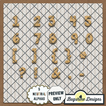 Glitter Dough Alphabet Value Pack {Neutrals}