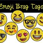 Glitter Emoji Brag Tags for Big Kids Growing Bundle