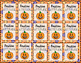 Halloween Fall Glitter Emoji Brag Tags