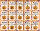 Halloween Fall Glitter Emoji Brag Tags