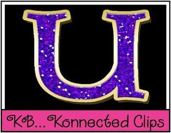 Glitter Fun: Lowercase Letters ~Commercial Use