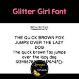 Glitter Girl Free Font
