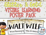 Glitter & Gold Visible Learning Poster Pack