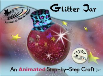 Glitter Jar - Animated Step-by-Step Craft - Regular