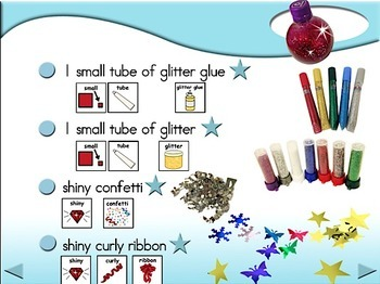 Glitter Jar - Animated Step-by-Step Craft Symbol Stix
