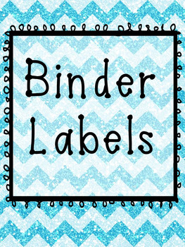 Glitter Makes Everything Better  *EDITABLE* Classroom Organization Labels