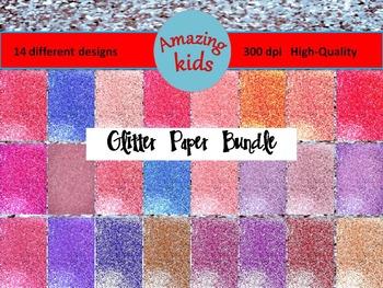 Glitter Paper Bundle