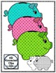 Glitter Polka-dot Piggy Banks - Clip Art