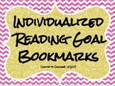 Reading Goal Bookmarks - GLITTER