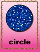 Glitter Shape Posters (Classroom Decor)