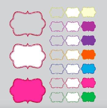 Glitter Sparkle Frames