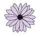 Glitter Spring Flowers Clip Art: Commercial & Personal Use