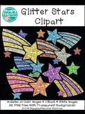 Glitter Stars Clipart