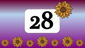 Glitter Sunflower Timer Bundle