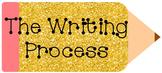 Glitter Writing Process Pencils Bundle Editable