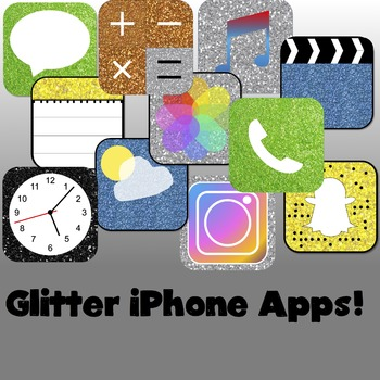 Glitter iPhone Apps