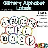 Glittery Alphabet Labels
