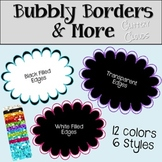 Glittery Cloud Frames {Commercial Use}