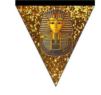 Glittery Egyptian Bunting