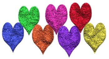 Glittery Heart Clip Art