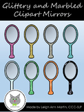 Glittery & Marbled Mirror Clipart