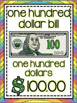 Glittery Money Posters *glittery rainbow*
