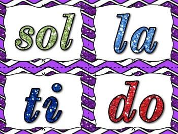 Glittery Pitch Ladder - Do Re Mi Fa Sol La Ti Do