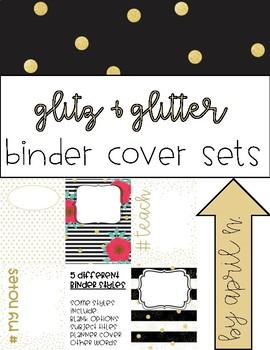 Glitz & Glitter Binder Covers