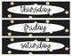 Glitz & Glitter Calendar and Banners