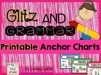 Glitz & Grammar Anchor Charts