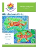 Glitzy Geckos Art Project