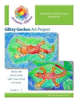 Glitzy Geckos Art Project