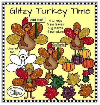 Glitzy Turkey Time