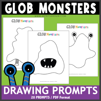 Glob Monsters Drawing Prompts