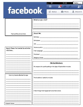 Global 1: Age of Exploration Facebook Project Template