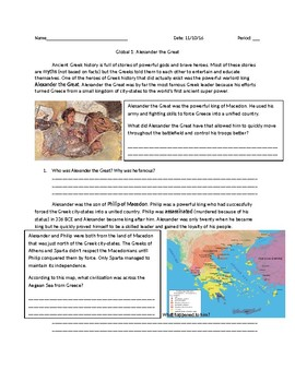 Global 1: Alexander the Great
