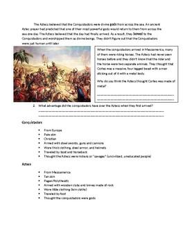 Global 1: Aztec-Conquistador Encounter