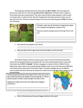 Global 1: Geography of Africa