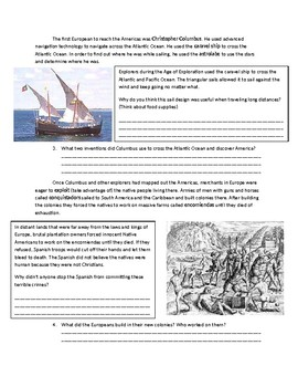 Global 1: Intro to the Age of Exploration