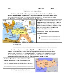 Global: 1 Intro to the Ottoman Empire