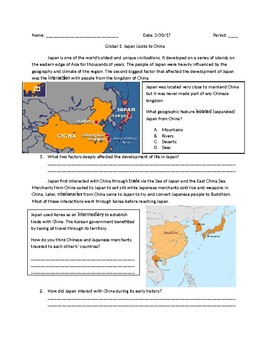 Global 1: Japan, China and Korea