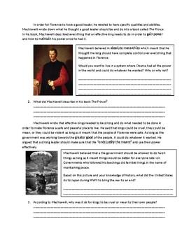 Global 1: Machiavelli